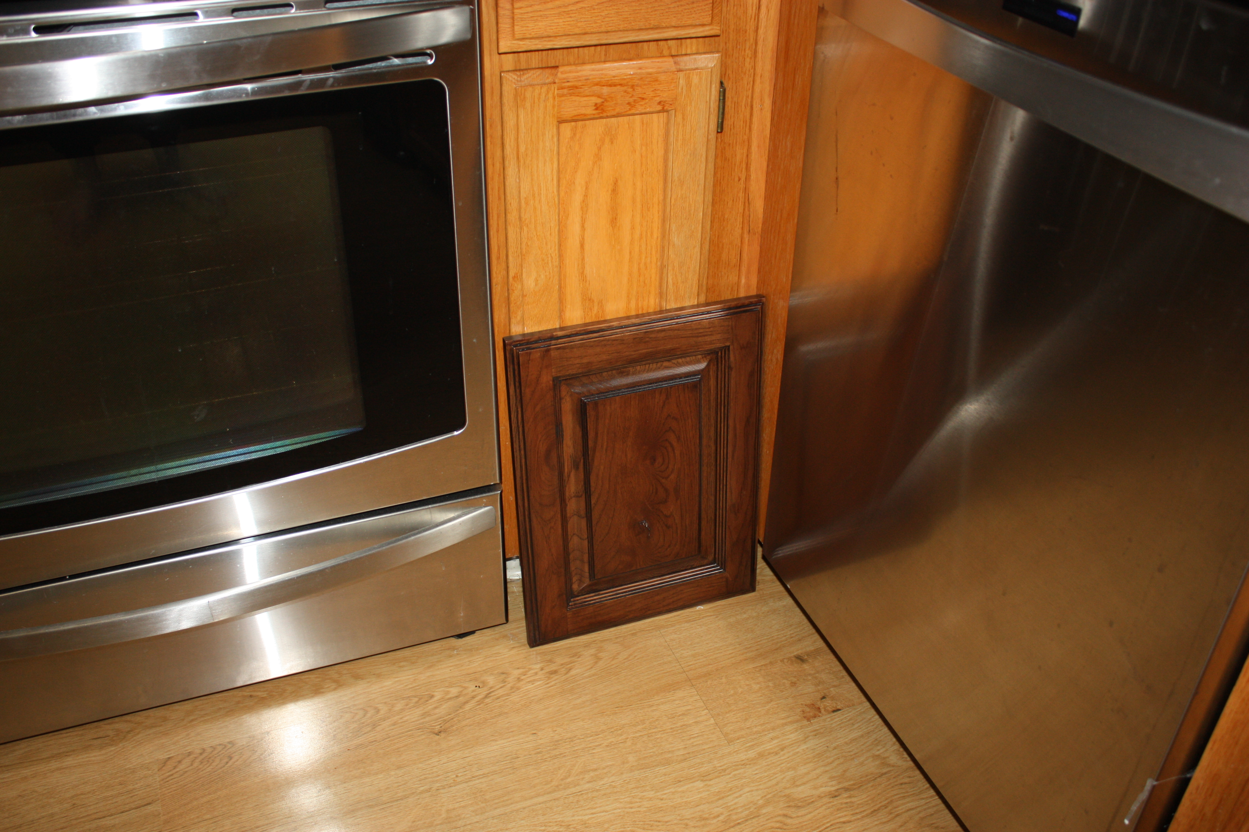 Refinishing Kitchen Cabinets With Minwax Polyshades