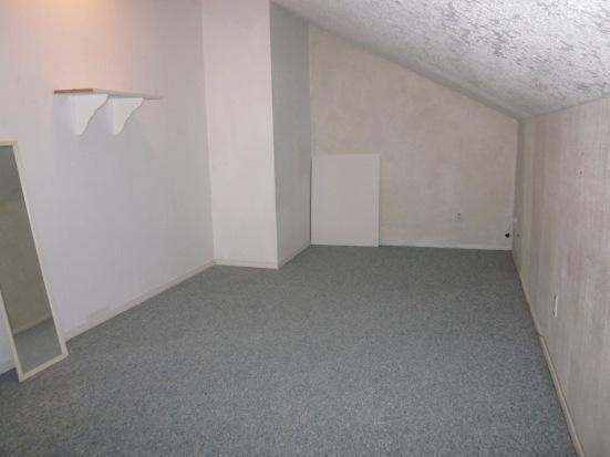 Upstairs enclosed loft bedroom