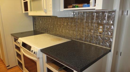 Tin Tile Backsplash Elisa S Ramblings