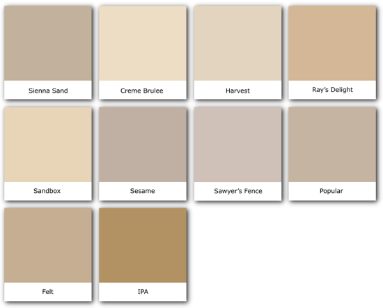 Tans_swatches