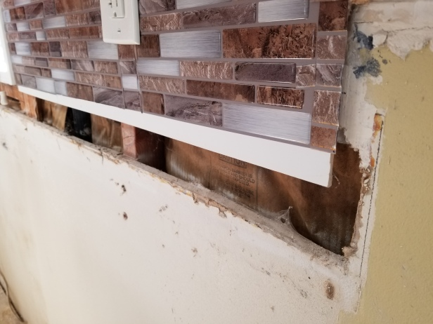 Removed backsplash