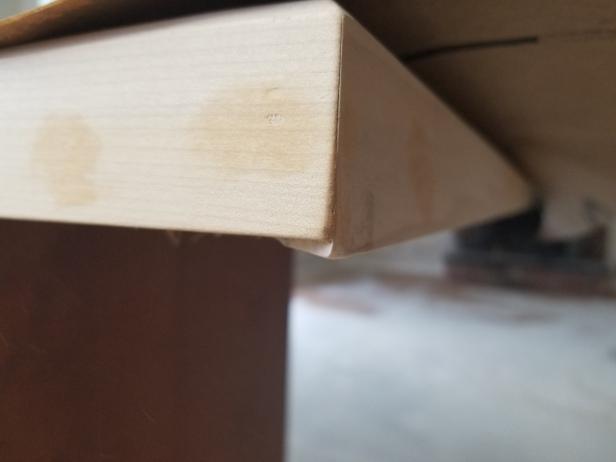 Uneven edges
